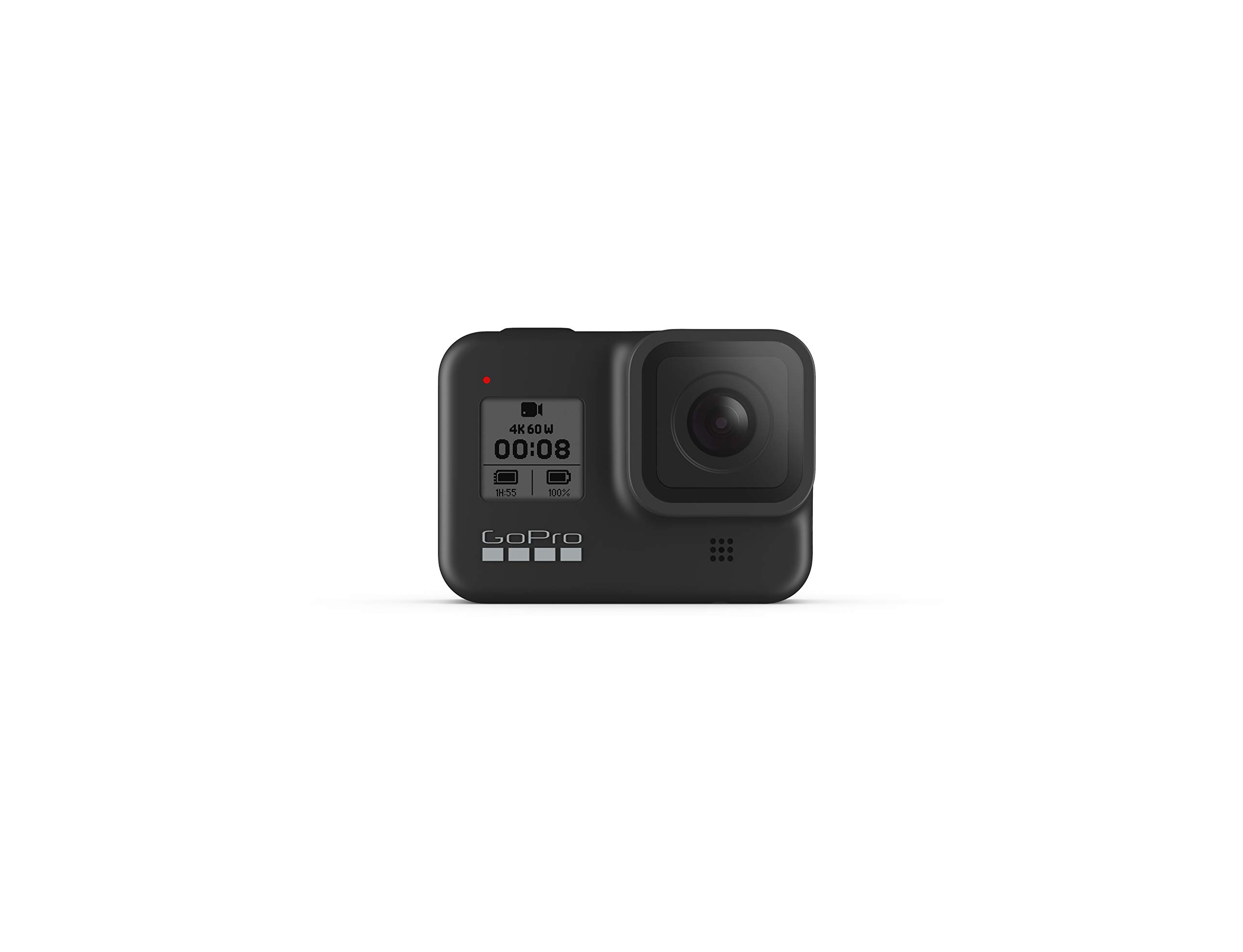 GoPro HERO8 Black - Waterproof Action Camera with Touch Screen 4K Ultra HD Video 12MP Photos 1080p Live Streaming Stabilization by GoPro