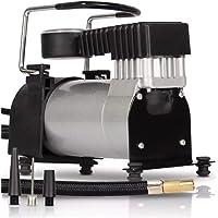 Mini Compressor De Ar 12v Automotivo 965 Rpm 3 Bicos adaptadores para Pneu de Carro Moto Bike Bola Balões