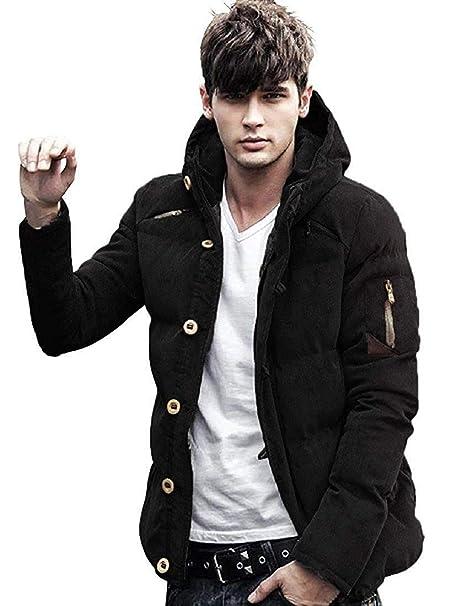 (マガザンレーブ) mgzan rev メンズ ファッション 冬 服 カジュアル 中綿 ダウン ジャケット アウター フード 付き 防寒着 M ~  XL DA,5