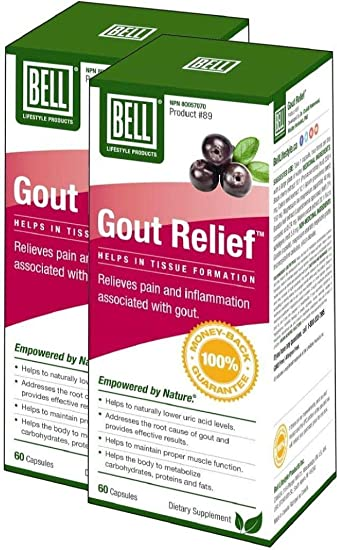 Amazon com: Bell Gout Relief (60 Caps) 2-Pack: Health