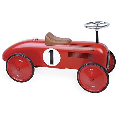 Vilac Metal Car, Red : Push And Pull Baby Toys : Baby
