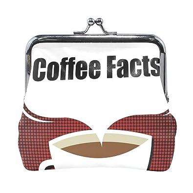 Amazon.com: Monedero de datos sobre el café para mujer ...