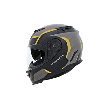 Casco Nexx integral x.t1 Galaxy – 3 x l – amarillo -
