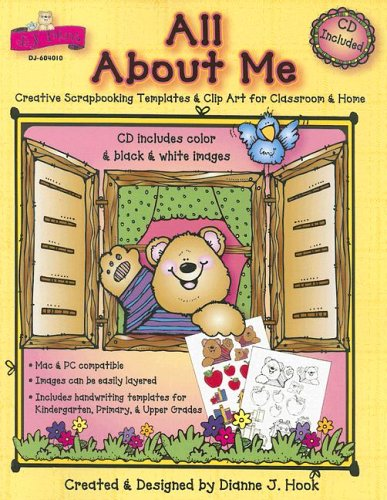 - All About Me: Creative Scrapbooking Templates & Clip Art for Classroom & Home