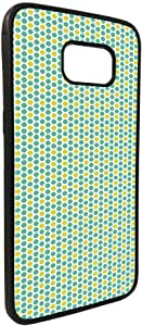 كفر جالكسي 7 ايدج  بتصميم زخرفة  خلية ملونة