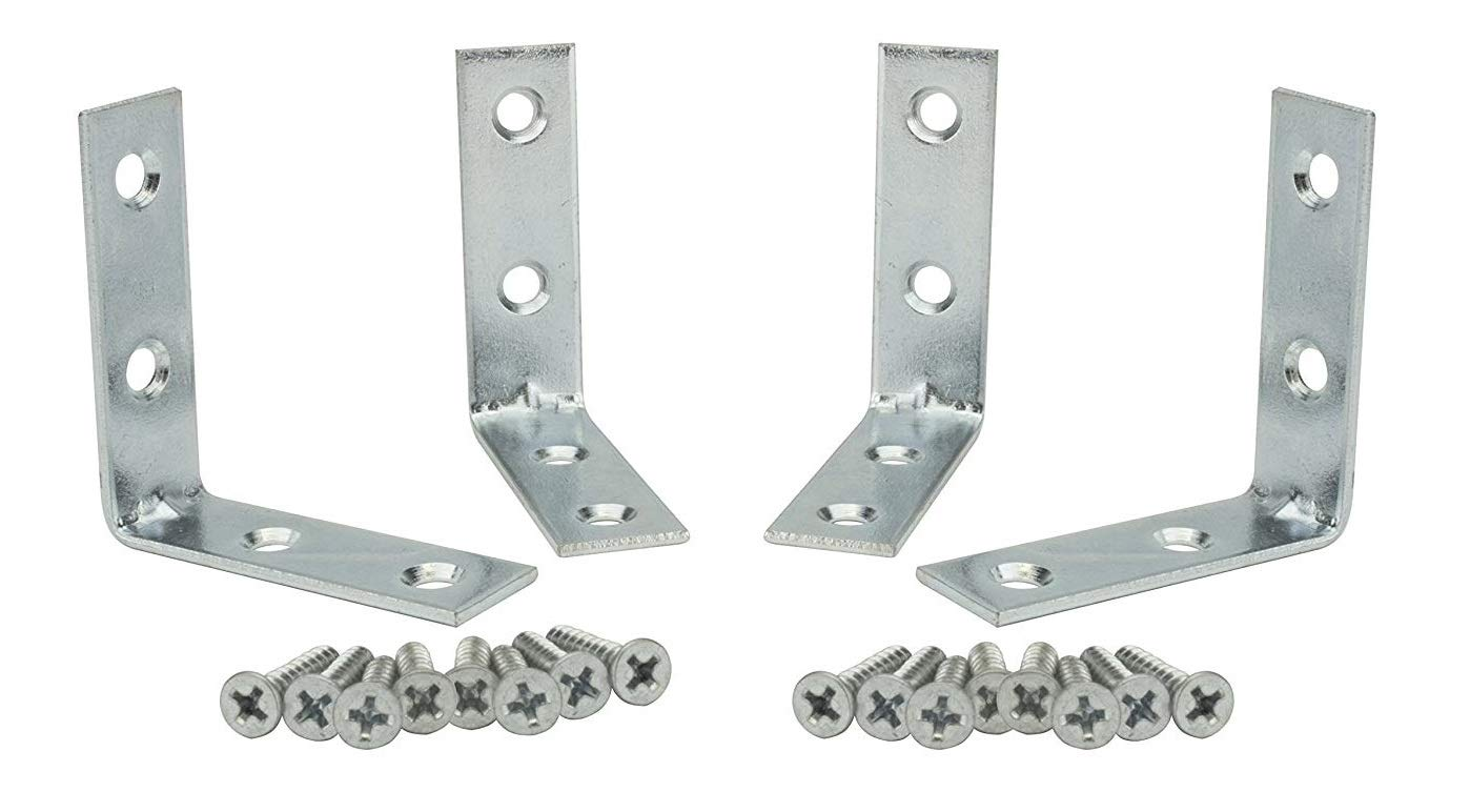 Corner Braces 2 inch Zinc Plated 4pcs