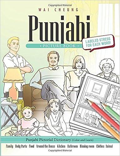 Buy Punjabi Picture Book: Punjabi Pictorial Dictionary (Color and