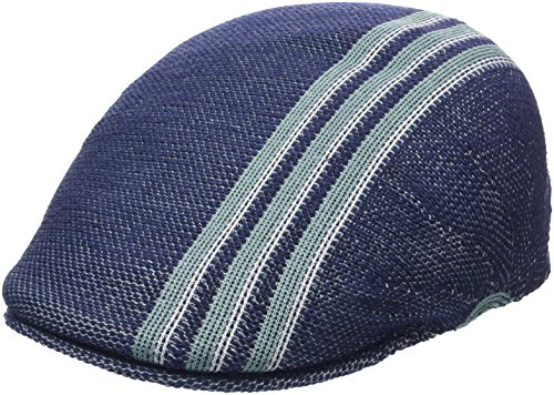 Kangol Men's Travel Stripe 507 Ivy Cap, Navy, S