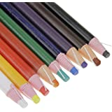 Assorted Color Peel-Off China Markers Grease Pencils Set Colored Drawing Marking Crayon Pencil for Coloring Drawing Marking o