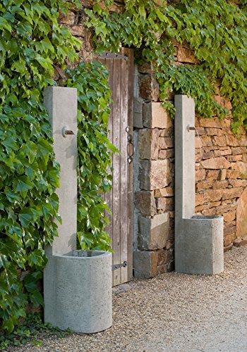 Campania International FT-119-GS Echo Fountain, Grey Stone Finish ()