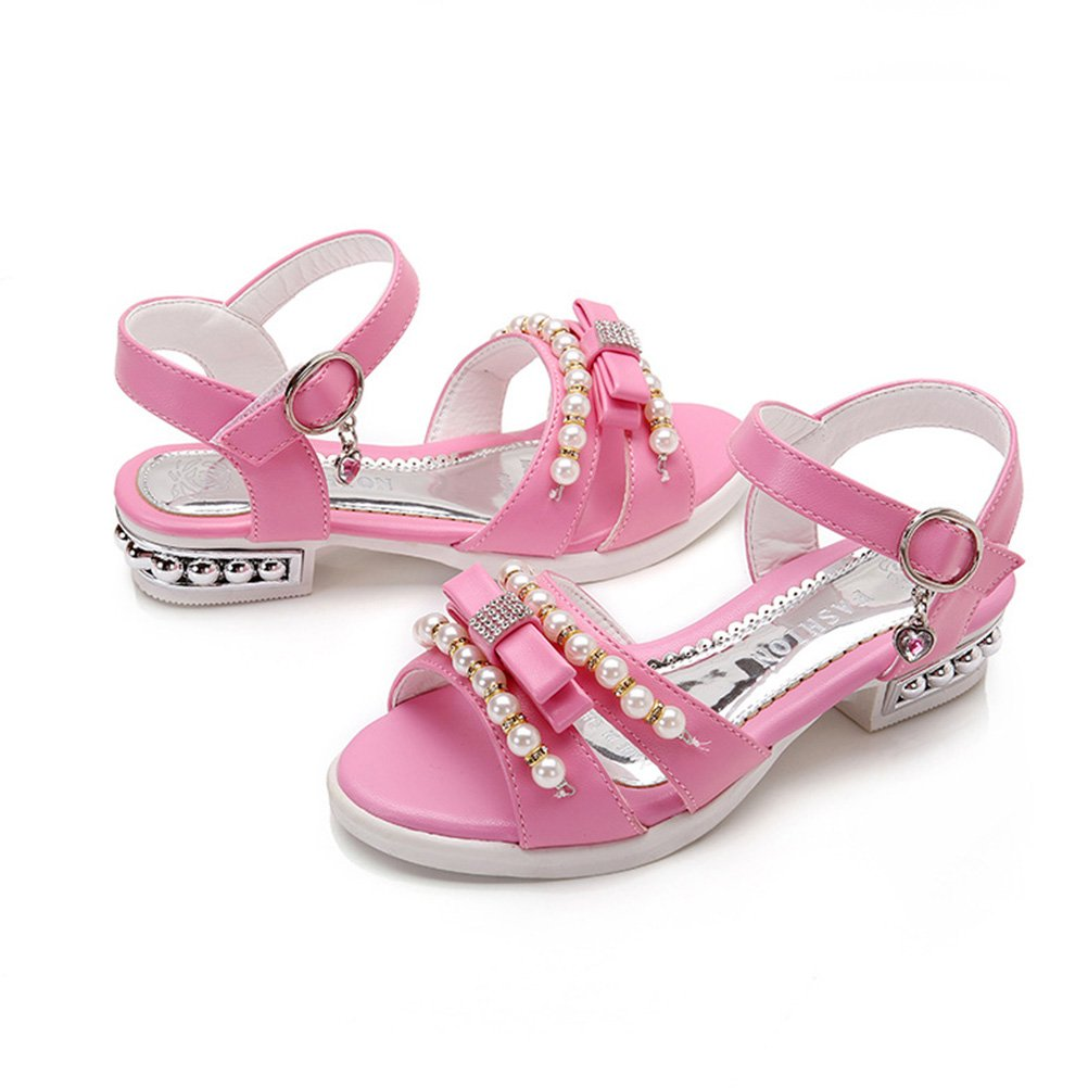 Zhuhaitf Alta Qualit�� Little Girl Kids Summer Non-Slip Breathable Shoes Pearl Princess Sandals GvvwNnFO2