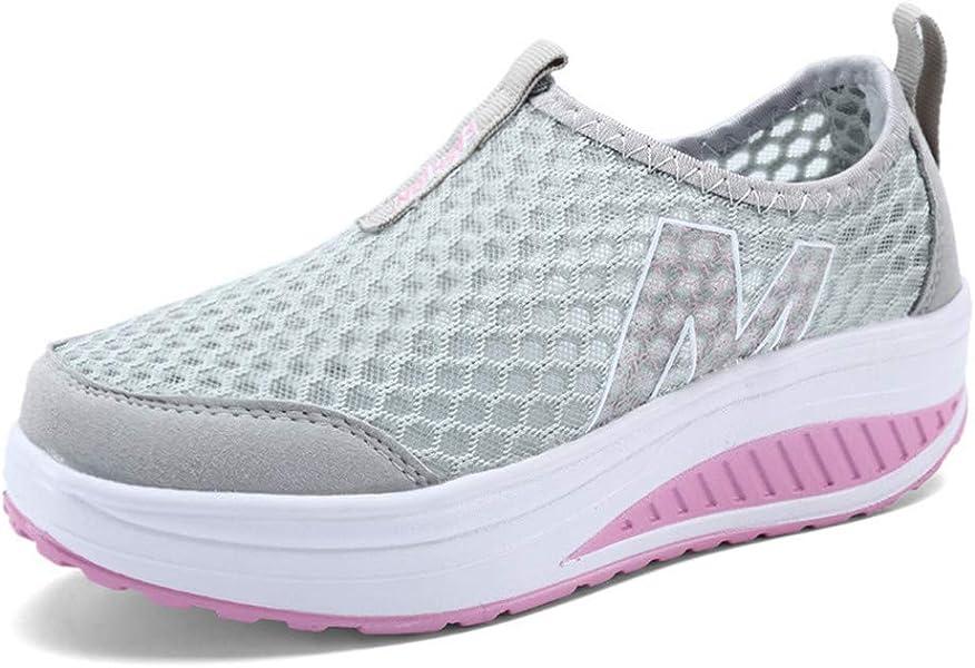 Mujeres Casual Zapatos Sport Walking Flats Mujeres Mocasines