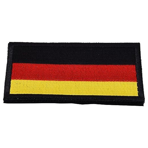 Alemania bandera nacional Velcro - TOOGOO (R) bandera nacional ...