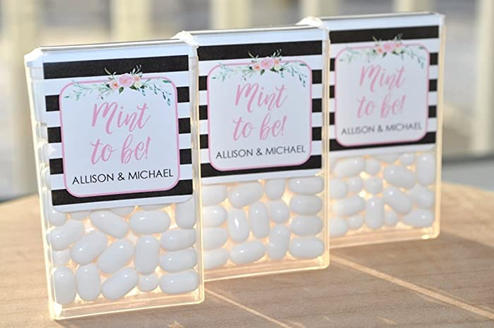 Amazon Wedding Favors Tic Tac Labels Mint To Be Bridal Shower