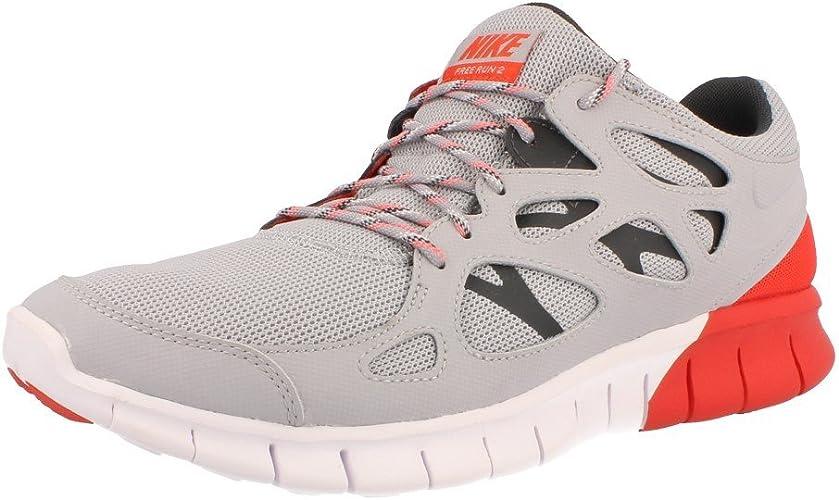 Nike Free Run 2 Mens Running Trainers 537732 005 Uk 9 Us 10 Eu 44 Sneakers Shoes Barefoot Ride Amazon Co Uk Shoes Bags