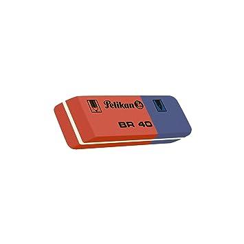 Amazon.com : Pelikan BR 40 Erasers Erase (Blue, Red, 4 Piece ...