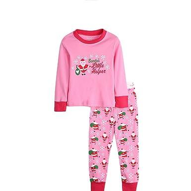 Kids Boys Girls Christmas Pyjamas Train Kids PJS Sets 2 Piece Xmas  Nightwear Cotton Toddler Sleepwears Ages 2-7 Years Pink  Amazon.co.uk   Clothing 2af69661049