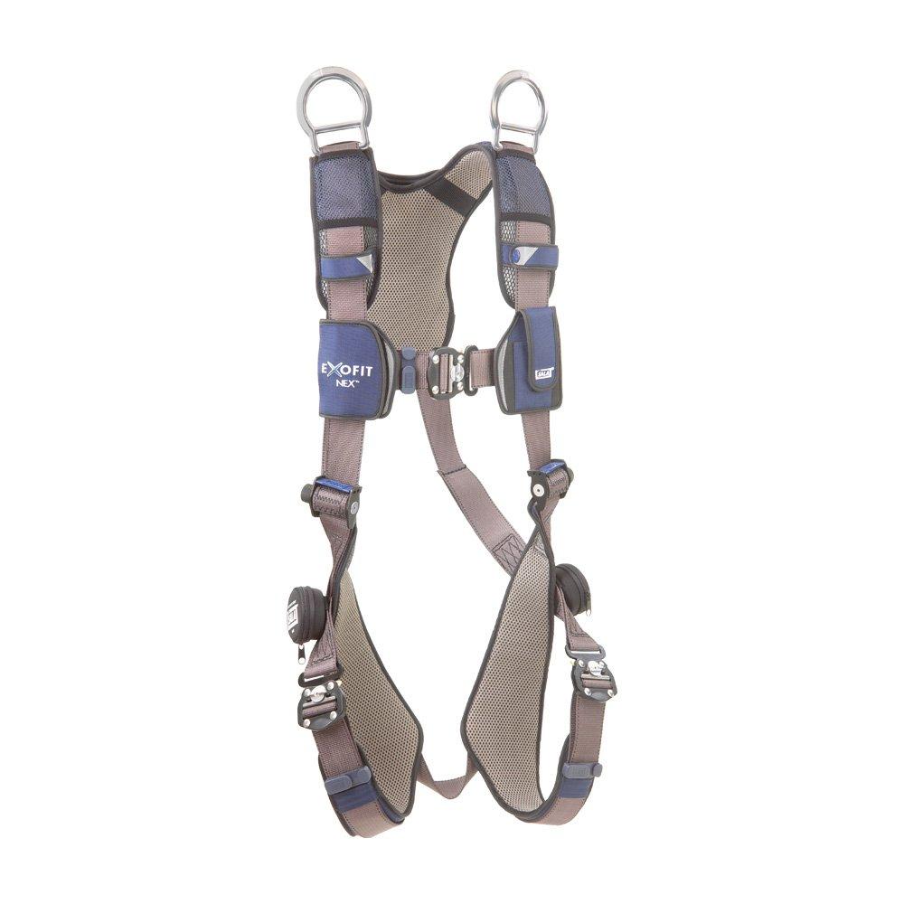 DBI/Sala 1113067 ExoFit NEX Vest-Style Full Body Harness, Blue/Gray, Large by DBI-Sala  B0069000KU