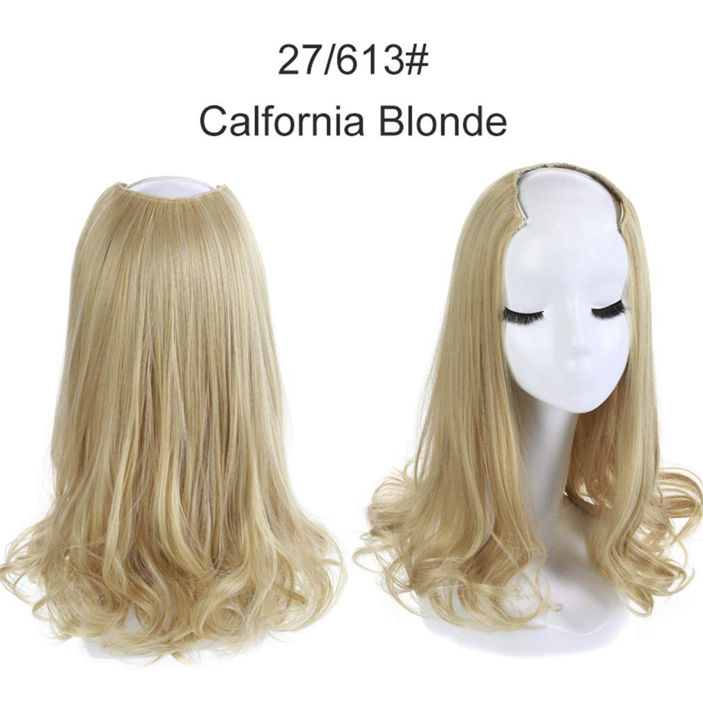 Amazon.com : 16\' Short Curl Blonde Half