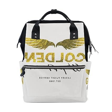 Bolsa de pañales para mamá, bolsa de pañales de mayor capacidad, bolsa de pañales