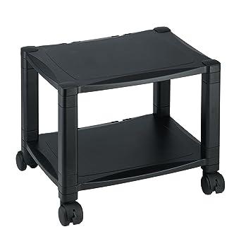 Wheeled Printer Stand   2 Shelves