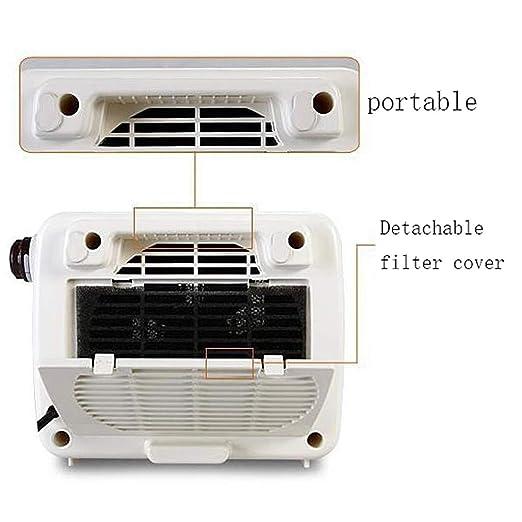 Calentador eléctrico pequeño, Calentador de Aire Caliente, Horno de Calentamiento rápido de Dormitorio, calefacción de cerámica PTC, hogar, ...