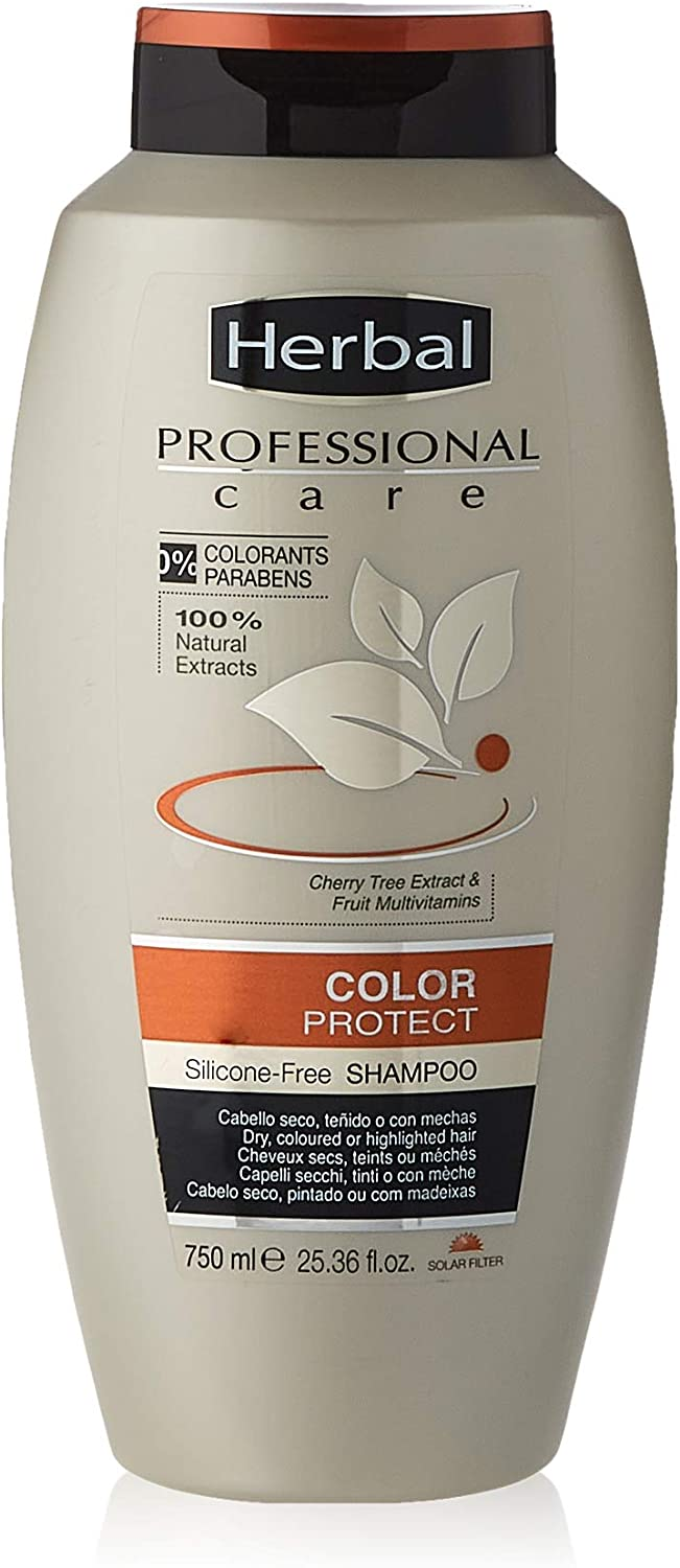 Herbal Professional Care Color Protect Champú - 750 ml