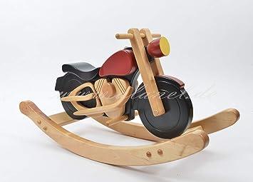 Moto à bascule cheval à bascule jouet en