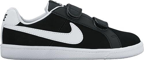 Nike Court Royale (PSV), Scarpe da Ginnastica Bambini e Ragazzi, Nero (Black/White 002), 31 EU