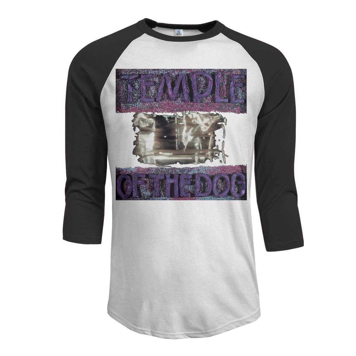 Macwe Temple Of The Dog S 3 4 Sleeve Baseball Black Shirts