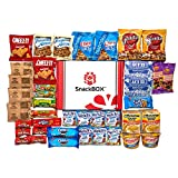 Care Package for College Students, Fathers Day, Birthday, Office Snacks and Gift Baskets (40 Count) From Snack Box