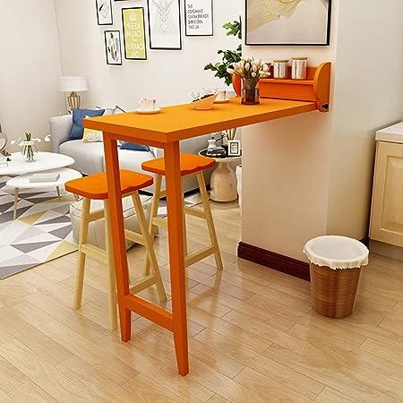Table Murale Rabattable Pliable Mur Bar Table Et Chaises Maison