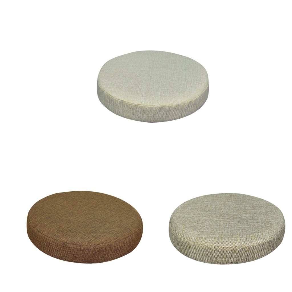 Fityle 3Pieces Super Breathable Bar Stool Cover Cushion Protector Sleeve 11inch-12inch