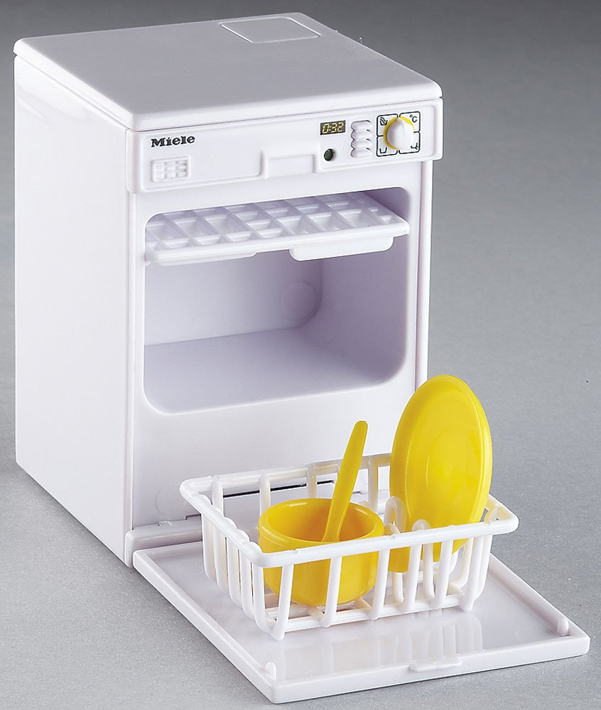 Miniature Dishwasher Mini Dishwasher With Sound And Light For Dolls House Kitchen
