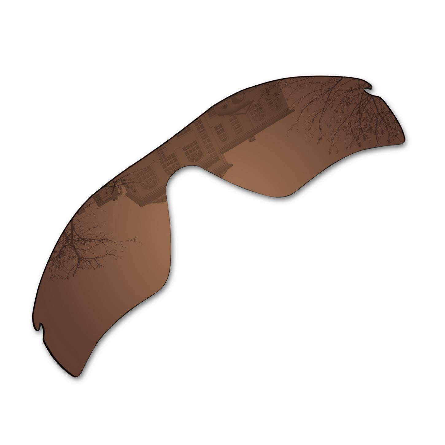 Millersawp Radar Path Replacement Lenses Compatiable with Oakley Sunglass-Bronze Brown by Millersawp