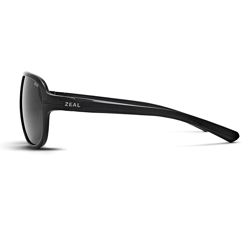 79061a20a2 Amazon.com  Zeal Optics Unisex Darby (Polarized) Black Gloss w   Dark Grey  Polarized Lens Sunglasses  Sports   Outdoors