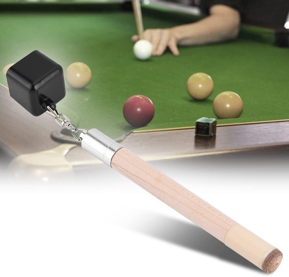 Details about  /4Pcs Deluxe Pool Cue Chalk Snooker Stick Care Maintain Striking Accessories