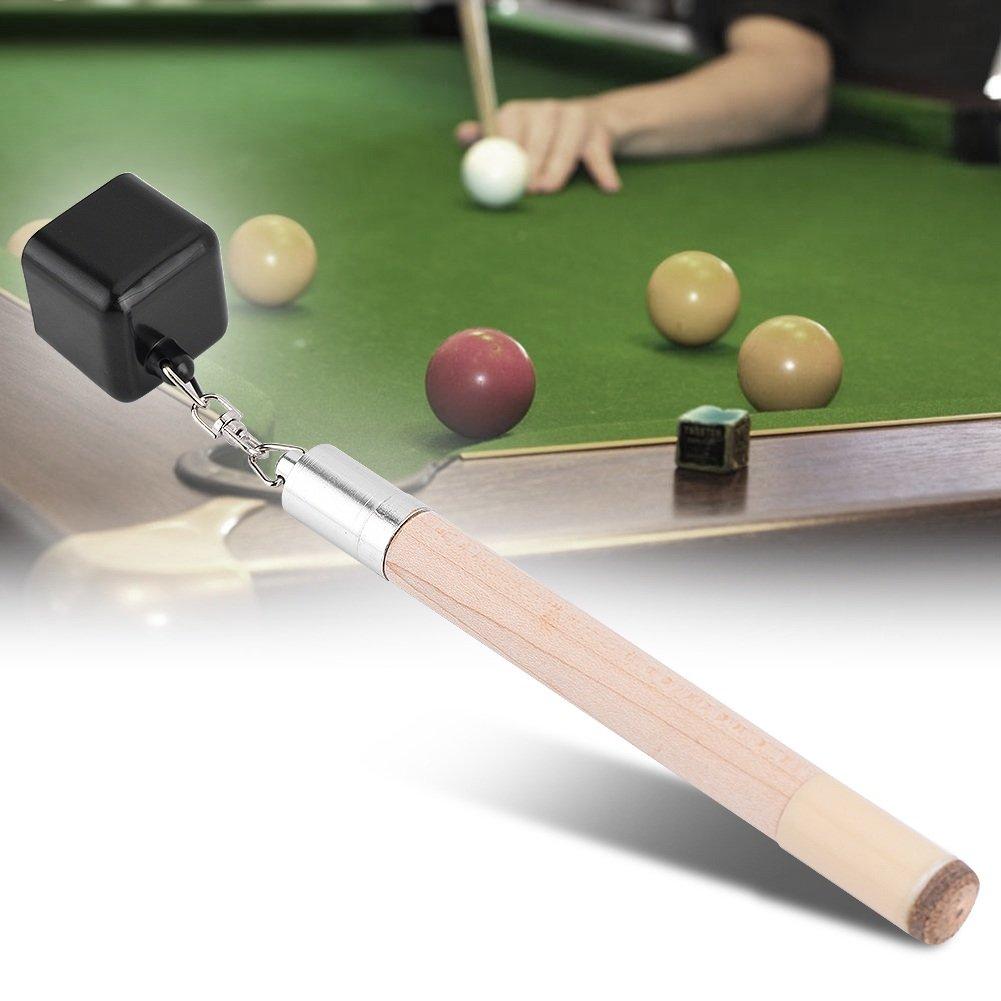 VGEBY 2 in 1 Pocket Chalk Billiard Cue Tip Pricker Prep Tool Snooker Accessories