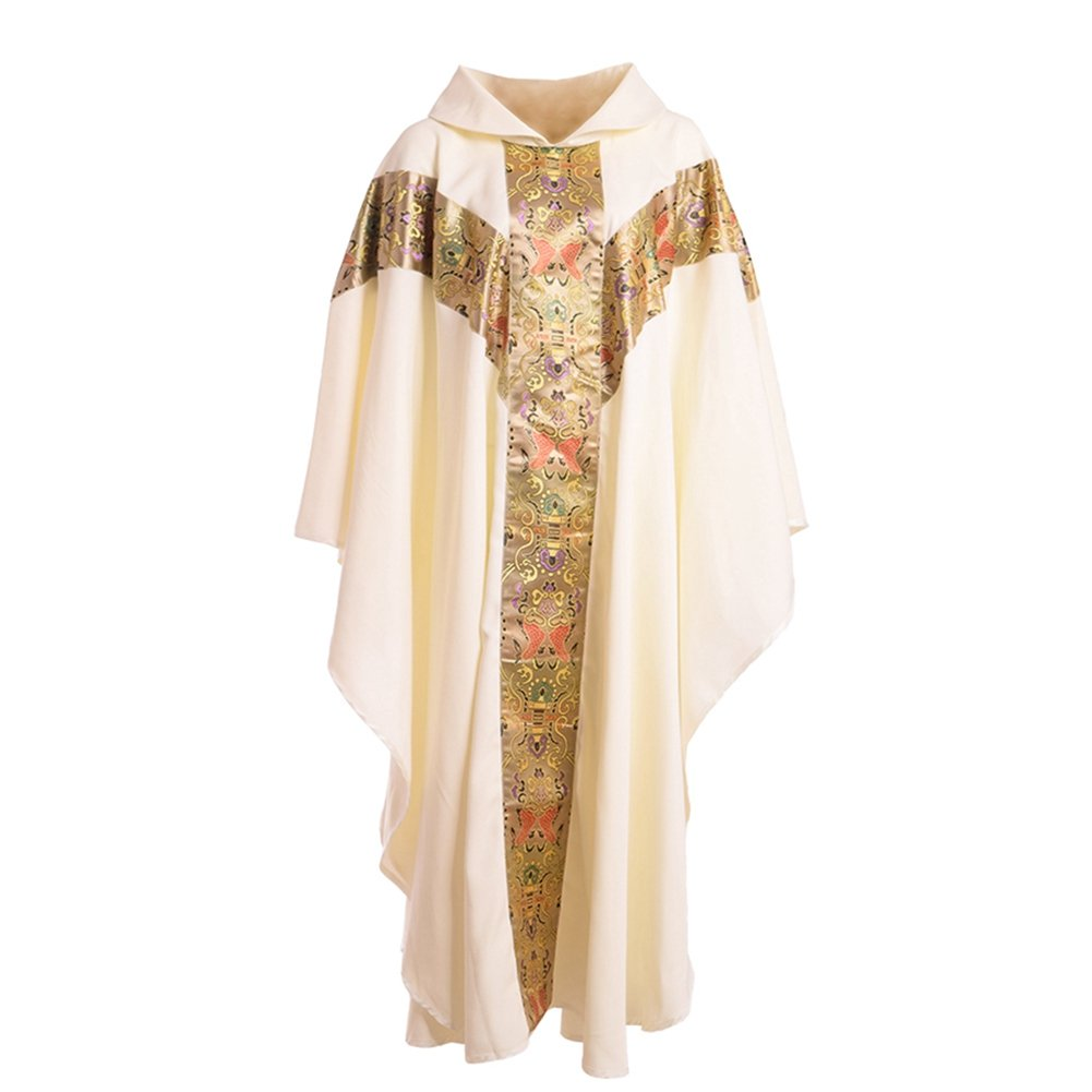 Amazon.com: BLESSUME Priest Celebrant Chasuble Catholic Church ...