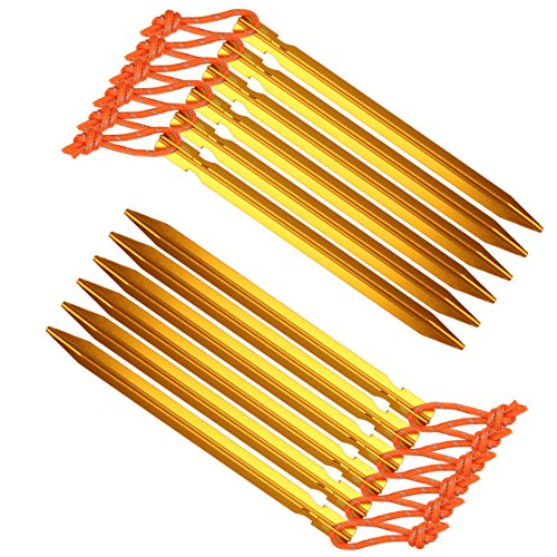 12-Pack-Aszune-Tent-Stakes-7075-Aluminum-Tent-Peg-with-Reflective-Pull-Cords-for-Outdoor-Camping