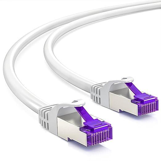 7 opinioni per deleyCON 7,5m RJ45 Cavo Patch- S-FTP PiMF- Cavo di Rete CAT7 / CAT-7 Gigabit