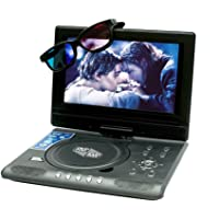 ABB INDIA Solutions & Services 9.8inch 3D Portable EVD / DVD Player with Gaming + TV
