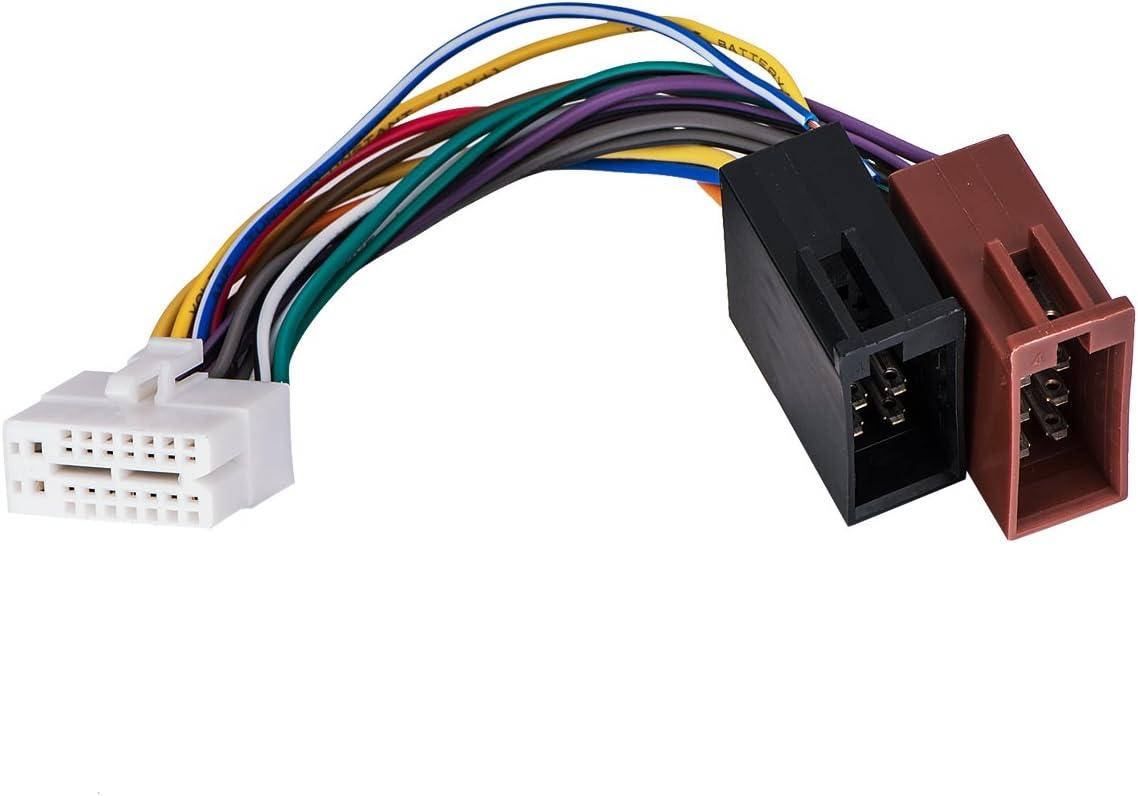 Auto Stereo Wiring Harness Plug for CLARION DXZ755MC//DXZ655MP