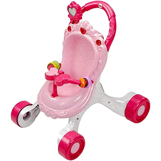 Baby walker Andador, Trolley, ciclomotor, Princesa Rosa.: Amazon ...