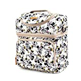 (US) WINGHOUSE X Disney Mickey Minnie Mouse Happy Cooler Crossbody Bag Travel Lunch Tote Bag (Ivory)