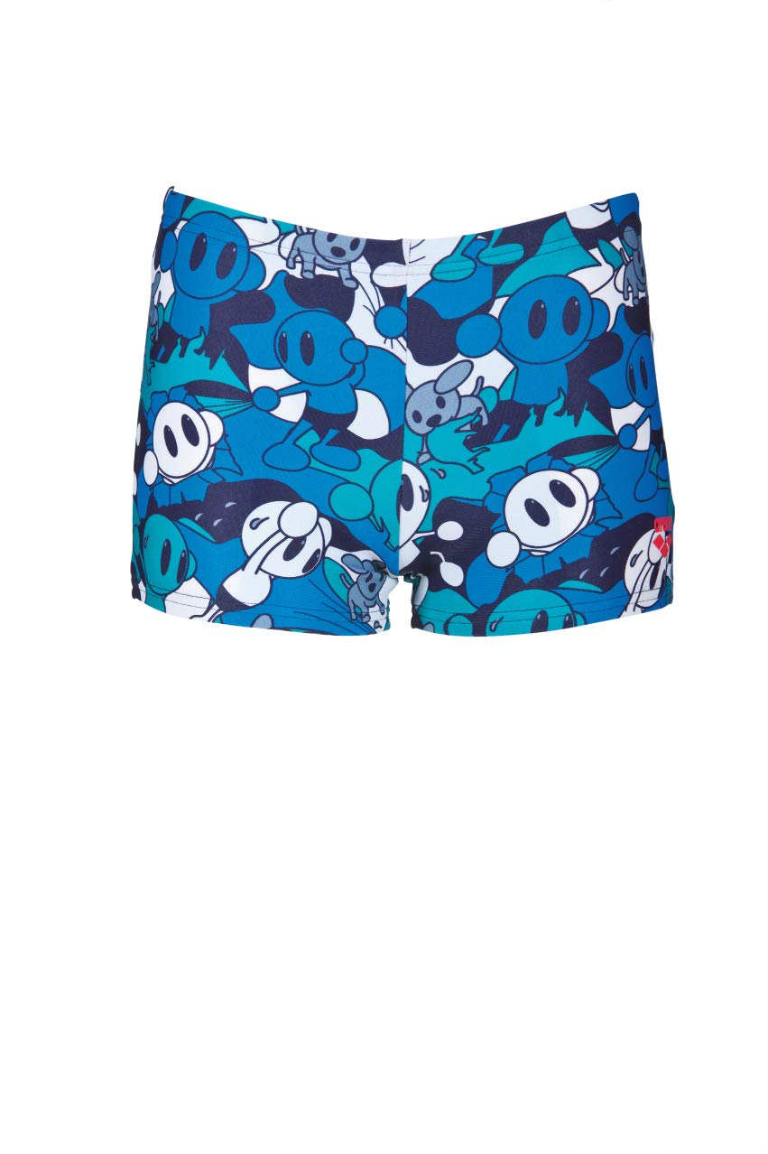 Arena Boys Camo Kun Swim Shorts Navy