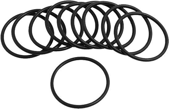 10 Stück Black Rubber 29 Mm X 2 Mm Oil Seal O Ringe Dichtungen Unterlegscheiben Baumarkt