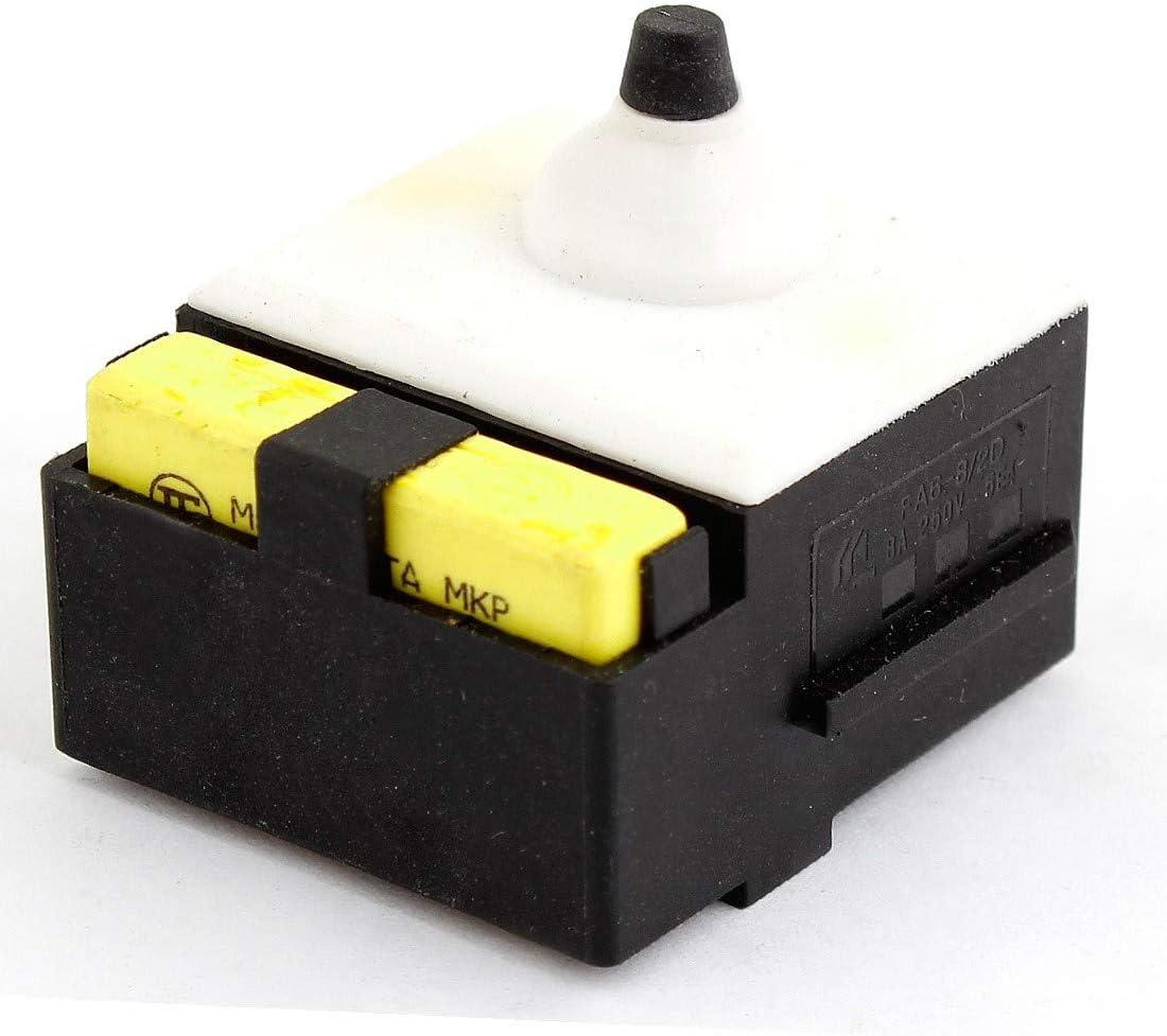 id:ee7 d9 0c 559 New Lon0167 SPST Electric Destacados Tool Switch AC eficacia confiable 250V 8A Para Dewalt 125 Amoladora angular