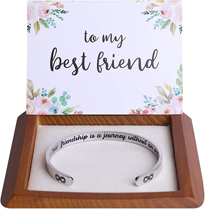various charms and colours gift sister charm card Best friend wish bracelet friend best friends bring prosecco bracelet