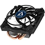 ARCTIC Freezer 11 LP - 100 Watts Intel CPU Cooler for Slim PC Cases, Ultra Quiet 100 mm PWM Fan, pre-Applied MX-4 Thermal Com